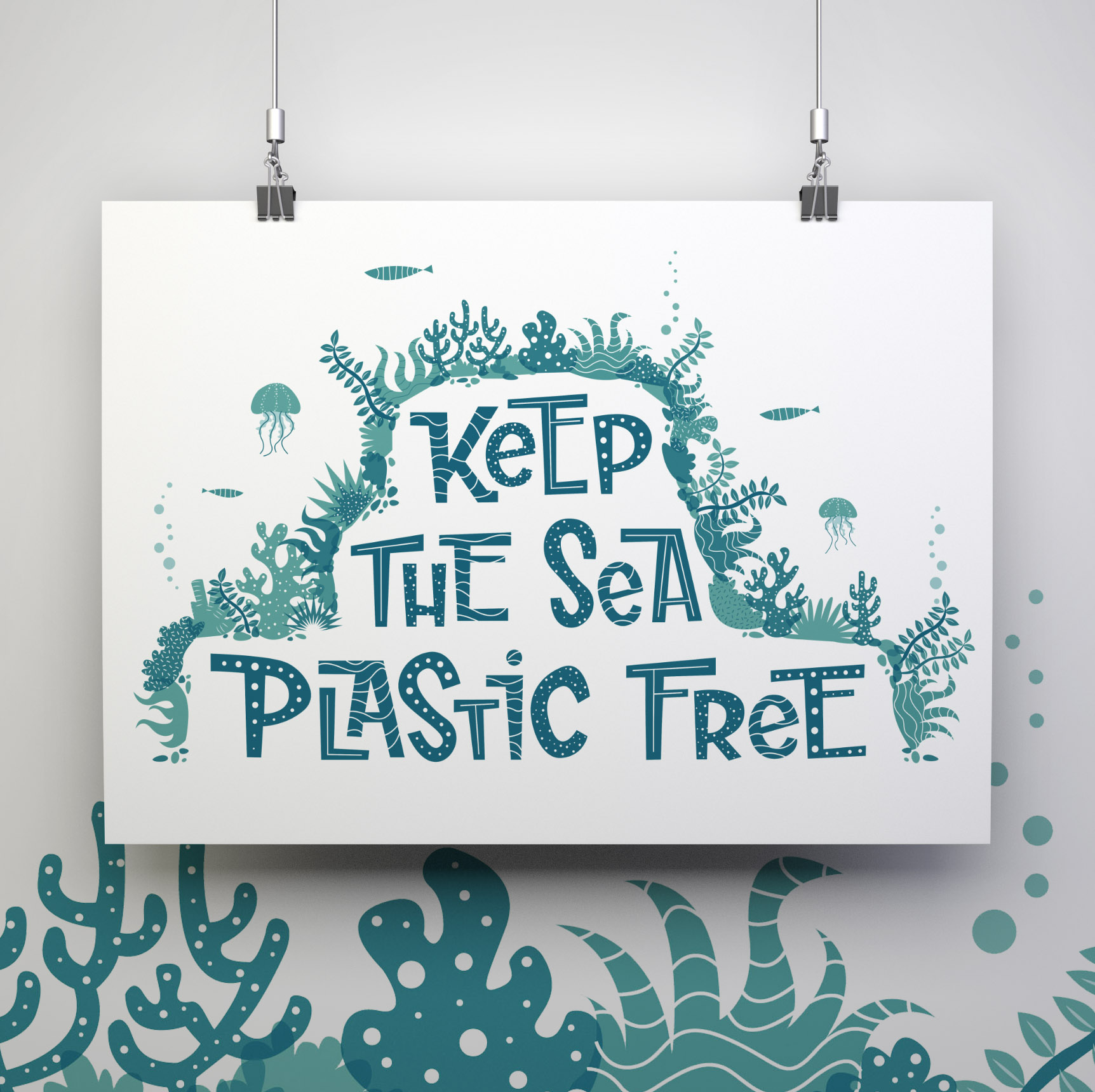 keep the sea plastic free, mug, ocean, eco-friendly, marine-life